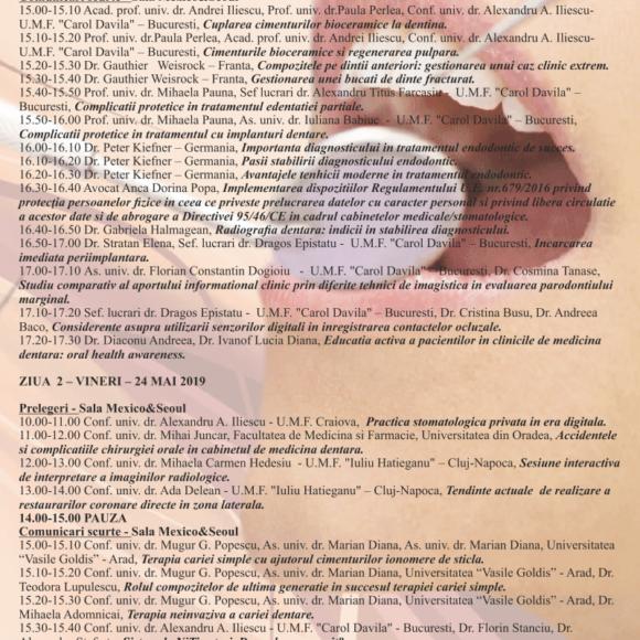 Programul Congresului  SDR